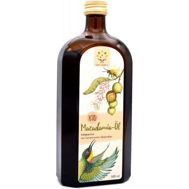 Bio-Macadamiaöl 500ml