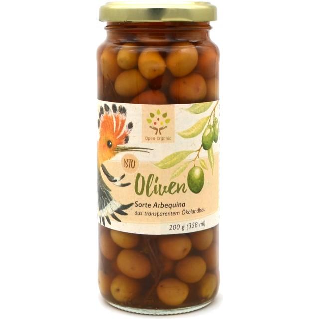 Bio-Arbequina-Oliven 200g